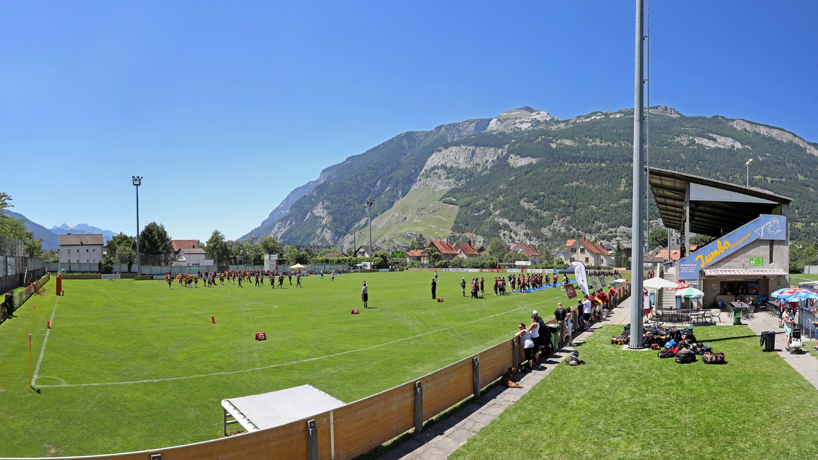 Calanda Broncos vs Winterthur Warriors | Stadion Ringstrasse